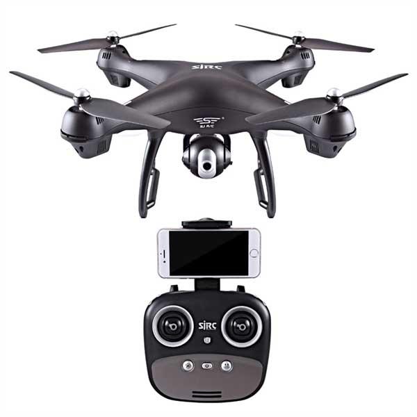 Квадрокоптер SJRC S70W GPS 1080p 3-axis camera