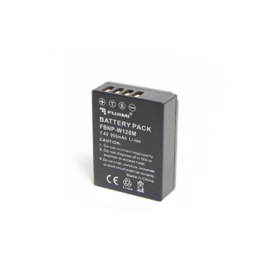 Аккумулятор Fujimi NP-W126 для FUJI X камер