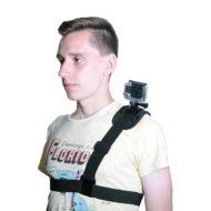 Плечевой ремень-крепление для экшн камер