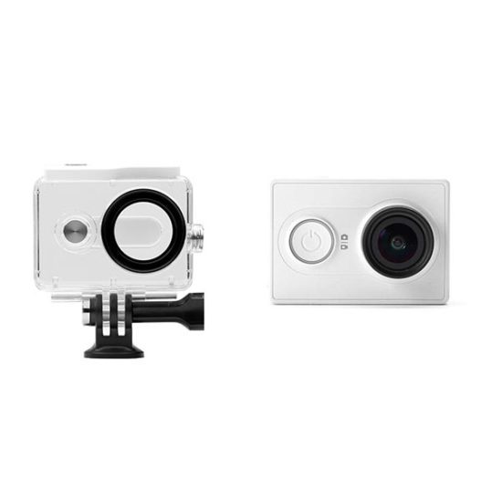 Экшен камера Xiaomi YI basic с аквабоксом