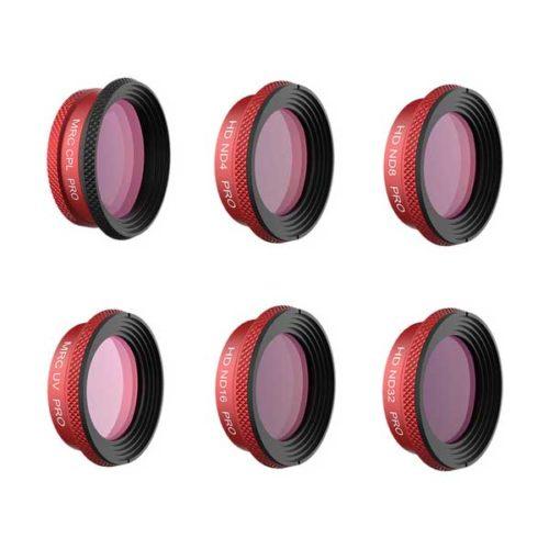 Комплект фильтров PGYTECH для DJI MAVIC AIR (UV,ND4,8,16,32, C-PL) 6 шт