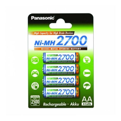 Аккумуляторы Panasonic AA 4 шт 2700mAh