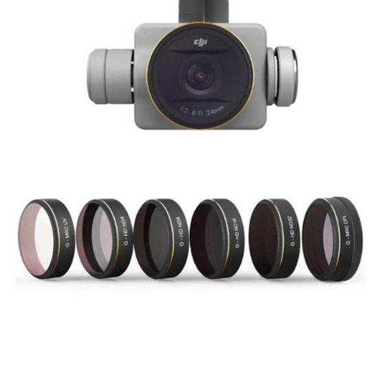 Комплект фильтров ND 6 шт PGYTECH для DJI PHANTOM 4 PRO
