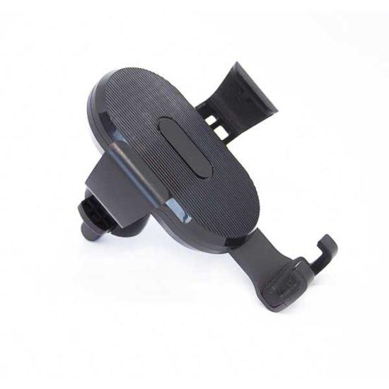 Автомобильный держатель для телефона с функцией беспроводной зарядки QI