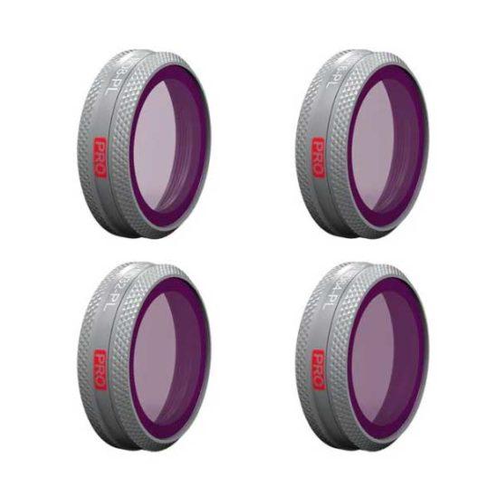 омплект фильтров (ND8/PLND16/PLND32/PLND64) PGYTECH для DJI MAVIC 2 ZOOM