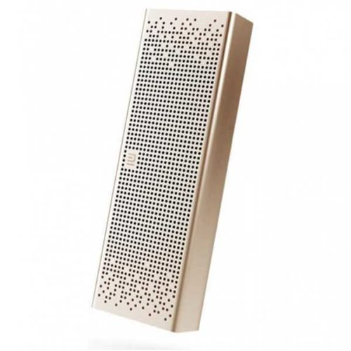 Портативная акустика Xiaomi Mi Bluetooth Speaker золото английский язык