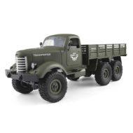 Военный грузовик на радиоуправлении JJRC Q60 6WD 1:16