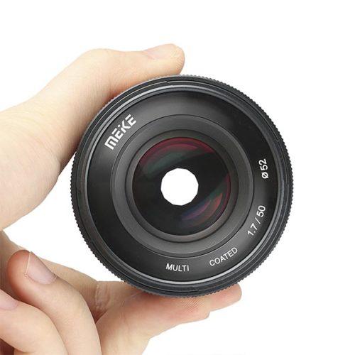 Объектив Meike 50 mm Mount полный кадр-1-4