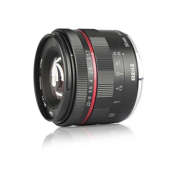 Объектив Meike 50 mm f/1.7 Sony E-Mount полный кадр