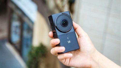 Экшн-камера YI 360 VR CAMERA-4
