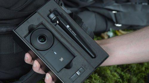 Экшн-камера YI 360 VR CAMERA-5