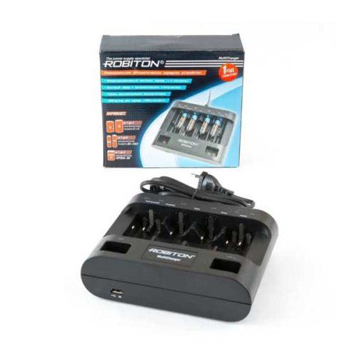 Зарядное устройство ROBITON MultiCharger для аккумуляторов AA/AAA/D/C/Крона
