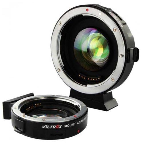 Адаптер Viltrox EF-M2 Speed Booster Canon EF - Micro 4/3