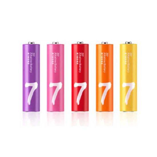 Батарейки Xiaomi ZMI ZI5 Rainbow AA 10 шт в кейсе