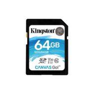 Карта памяти SDXC 64Gb Kingston Canvas Go UHS-I U3 V30 (90/45 Mb/s)