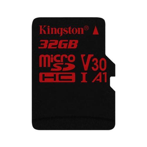 Карта памяти micro SDHC 32Gb Kingston Canvas React UHS-I U3 V30 A1 (100/80 Mb/s)