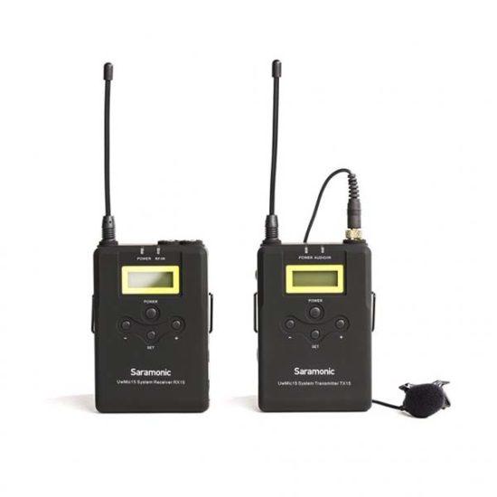 Петличная радиосистема UHF Saramonic UwMic15 (1TX+RX)