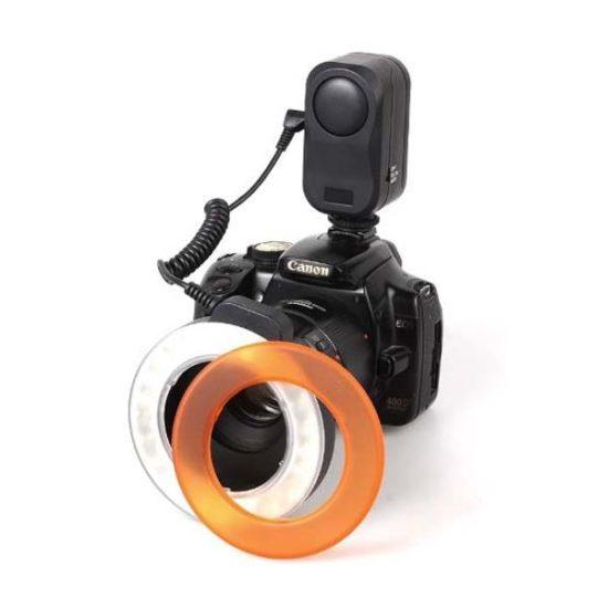 Кольцевой LED осветитель Wansen W48 для макросъемки