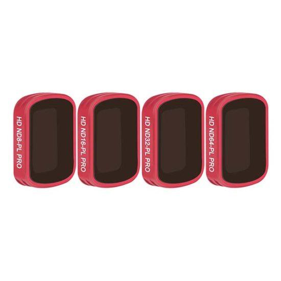 Комплект фильтров ND/PL PGYTECH для DJI OSMO POCKET (ND8/PL ND16/PL ND32/PL ND64/PL) PRO 4 шт