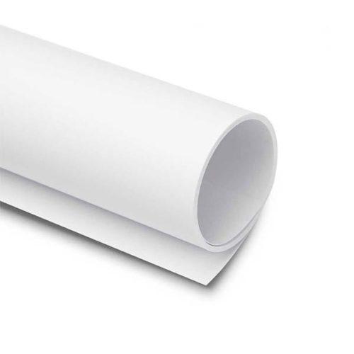 Фон матовый пластик SUPERIOR 1,55 x 3 м белый