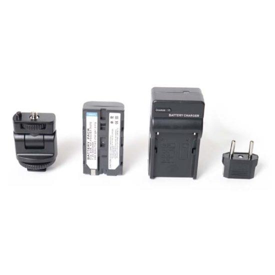 Светодиодный LED осветитель FUJIMI FJ-SMD396A 3200K-6200K 30W + АКБ NP-F570
