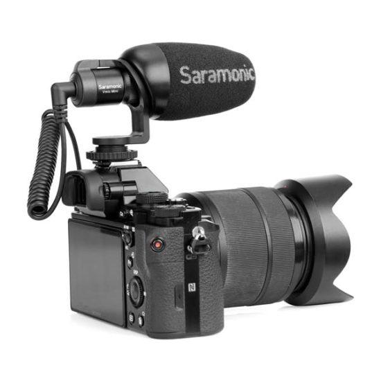 Направленный кардиоидный микрофон Saramonic Vmic Mini