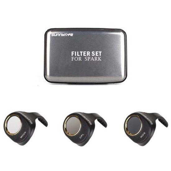 Набор фильтров 3 шт Sunnylife для SPARK (MCUV+CPL+ND8)