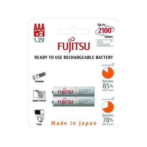 Аккумуляторы Fujitsu AAA 750 мАч (2 шт)