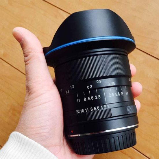Объектив Laowa 12mm f/2.8 Zero-D
