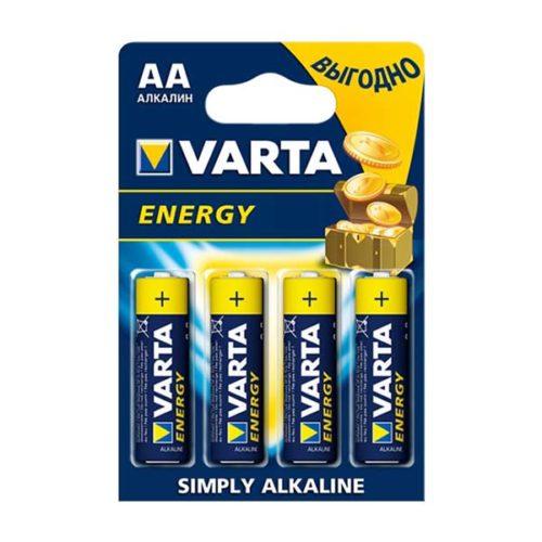 Батарейки VARTA LR6 (AA) Energy 4 шт в блистере
