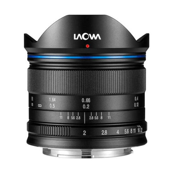 Объектив Venus Optics Laowa 7.5mm f/2 MFT черный