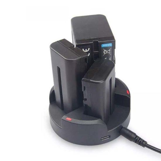 Зарядное устройство Kingma для трех аккумуляторов Sony NP-F