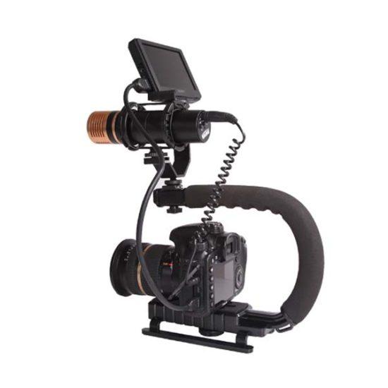 Ручка для камеры с креплением для дополнительного оборудования