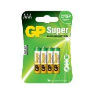 Батарейки GP LR03 (AAA) Super Alkaline 4 шт в блистере (24A-2CR4)