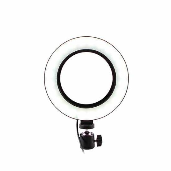 Кольцевой LED USB осветитель 25 см 3200K-5500K