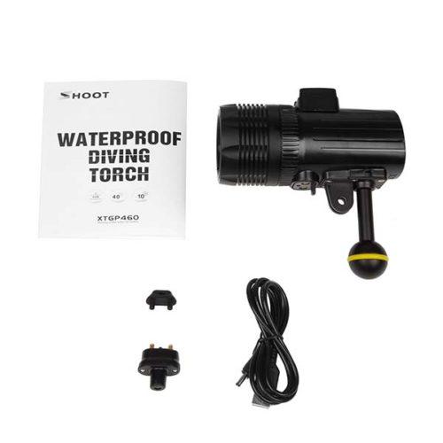 Осветитель LED для подводной съемки с креплением GoPRO XTGP460-1