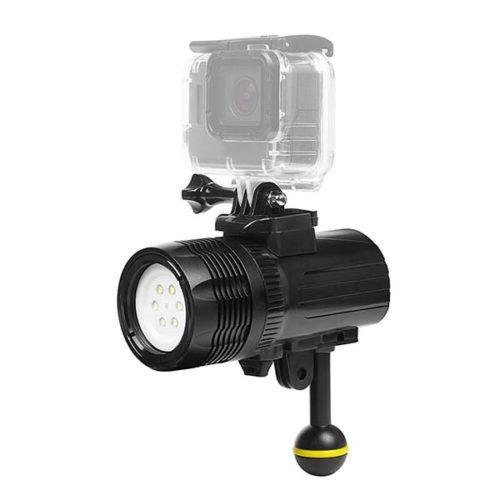 Осветитель LED для подводной съемки с креплением GoPRO XTGP460