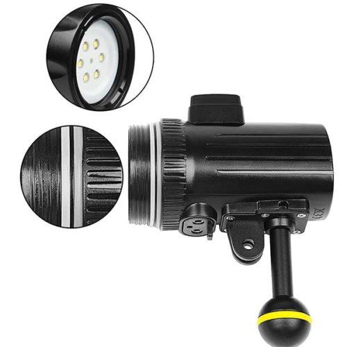 Осветитель LED для подводной съемки с креплением GoPRO XTGP460-5