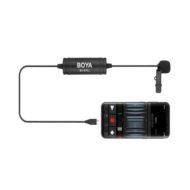 Петличный микрофон с разъемом USB-C Boya BY-DM2