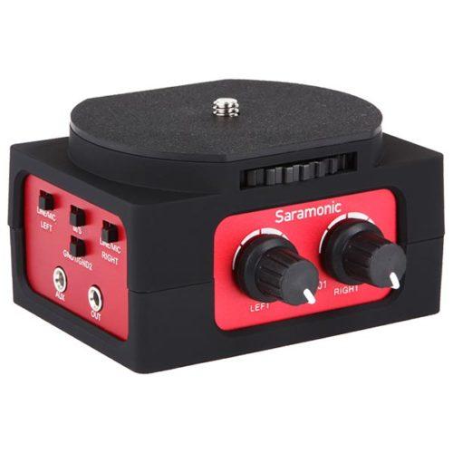Audio mixer 2 in 1out XLR Saramonic SR-AX101