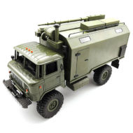 Military truck GAZ 66 on radio control WPL B-24 4WD