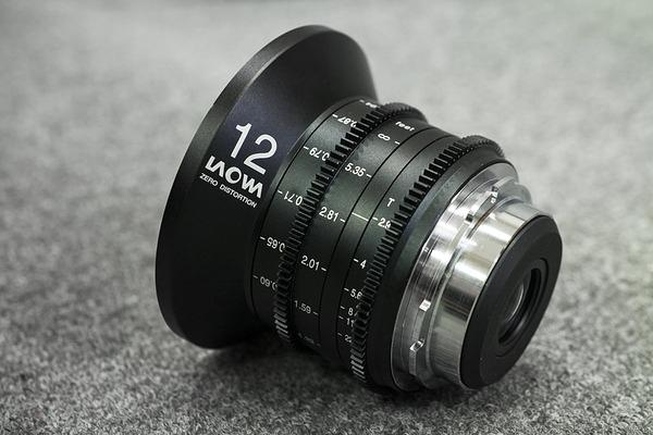 Объектив Laowa 12mm T/2.9 Zero-D