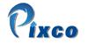 Продукция компании Pixco. Логотип компании Pixco