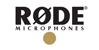 Продукция компании RODE. Логотип компании RODE