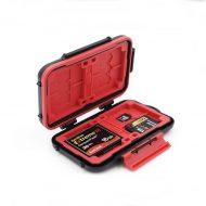Case FUJIMI FJ-TRVLR for memory cards (12 MicroSD 8 SD 4 CF)
