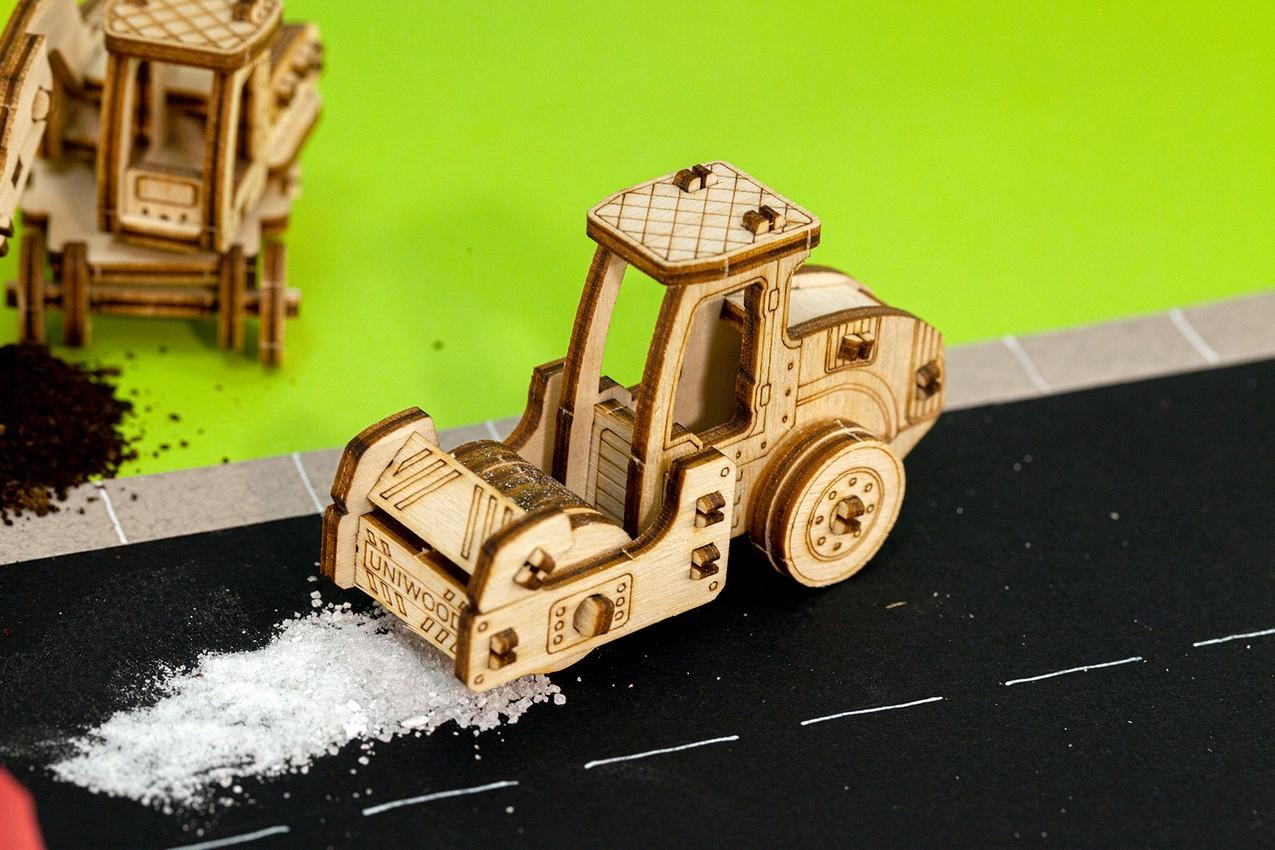"""Деревянный 3D конструктор Uniwood """"UNIT КАТОК"""""""